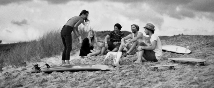 surf chill beach vegan summer camp