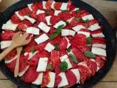 Tomato Tofu Carpaccio
